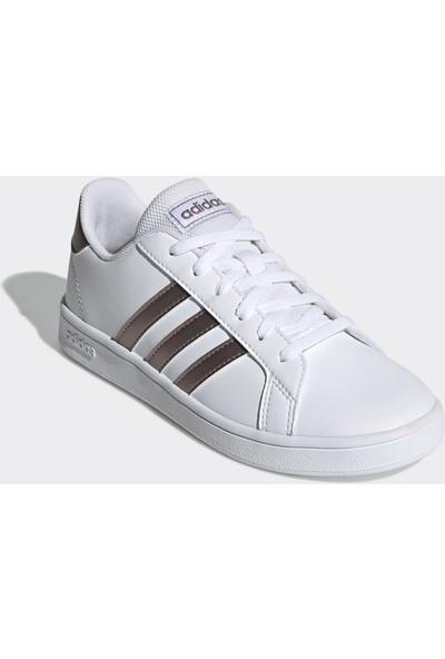 Adidas Çocuk Tenis Ayakkabısı Grand Court K EF0101