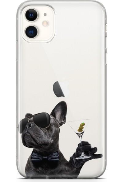 Lopard Apple iPhone 11 Kılıf French Bulldog Arka Kapak Koruma Desenli Full Koruyucu