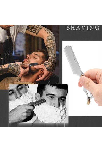 Qualis Shave U4 Ustura + Fırça + 5 Adet Jilet