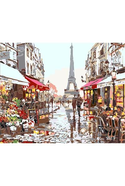 Plus Hobby SB19 Paris - Sayılarla Boyama Seti 40 x 50 cm