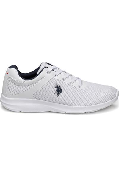 U.S. Polo Assn. Elıza Beyaz Erkek Sneaker Ayakkabı