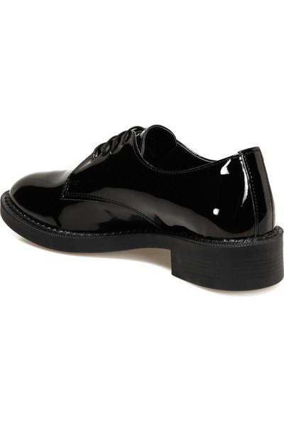 Butigo 20K-044 Siyah Kadın Oxford Ayakkabı