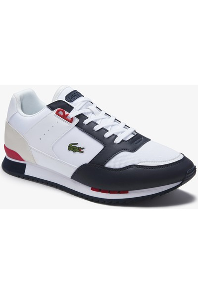 Lacoste Partner Piste 01201 Sma Erkek Beyaz - Lacivert Sneaker 740SMA0025.042