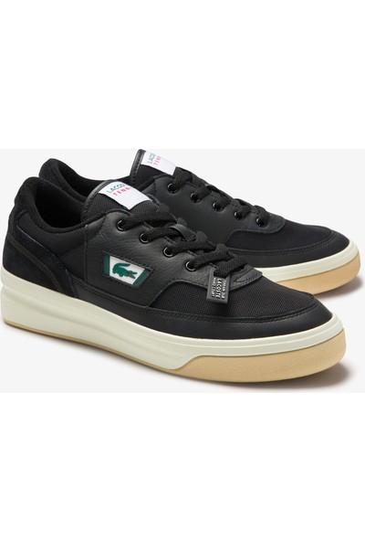 Lacoste G80 0120 1 Sma Erkek Deri Siyah - Beyaz Sneaker 740SMA0037.454