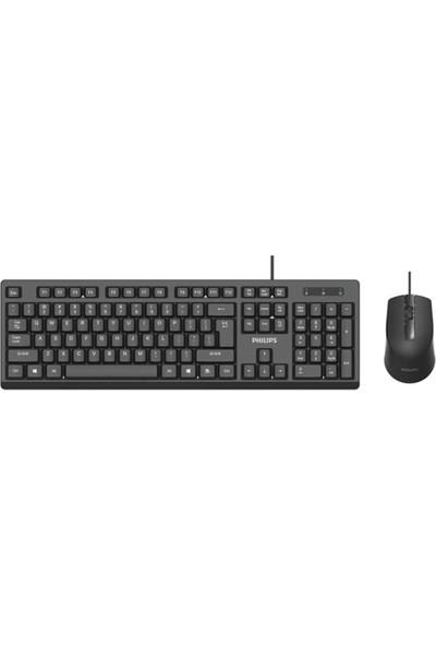 Philips SPT6234 USB Q Standart Kablolu Klavye Mouse Set