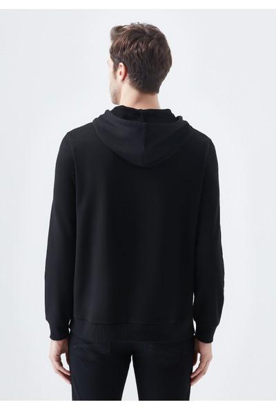 Mavi Erkek Baskılı Siyah Sweatshirt 066374-900