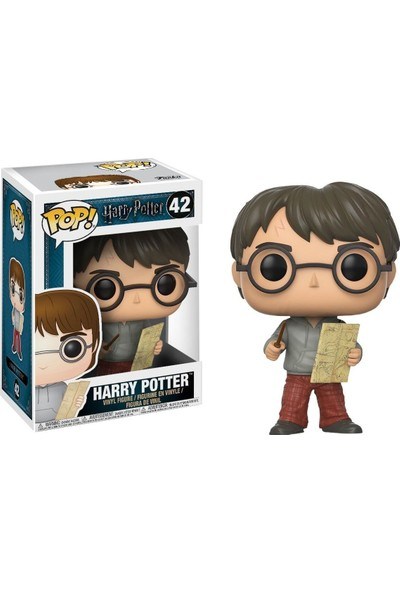 Funko Harry Potter With Marauders Map Pop Figür