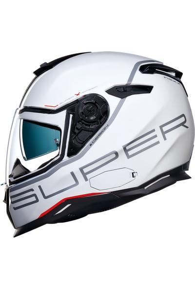 Nexx SX.100 Superspeed Beyaz Kask