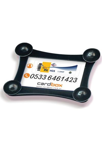 Cardbox Araç Bilgi Kartı Hgs Aparatı Parktel İletişim Bilgi Kart Aparatı