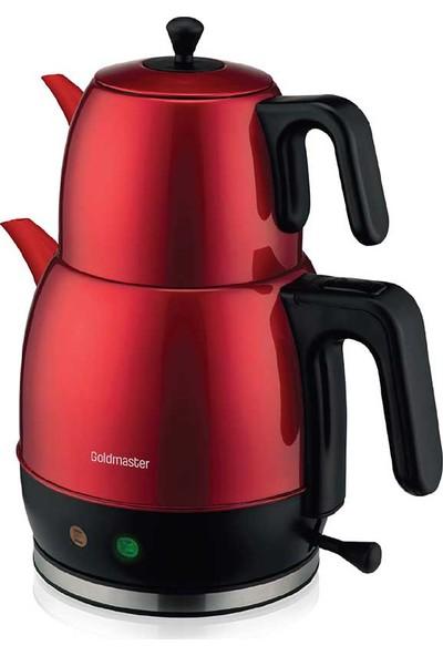 Goldmaster GM-7340K Demlika Çay Makinesi ve Su Isıtıcı