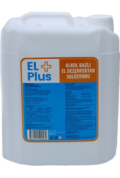 El + Plus Alkol Bazlı El ve Cilt Dezenfektanı 5 lt