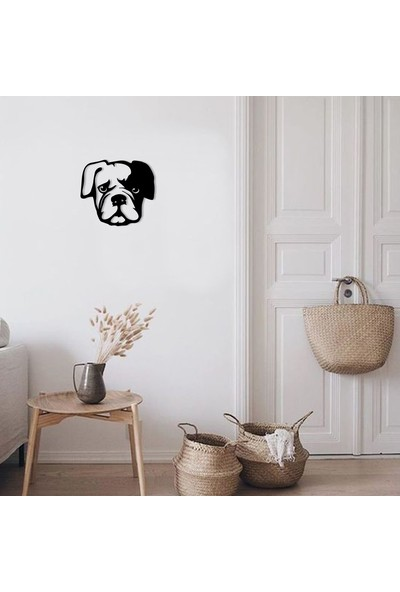 Karaen Dog Köpek Dekoratif Metal Tablo