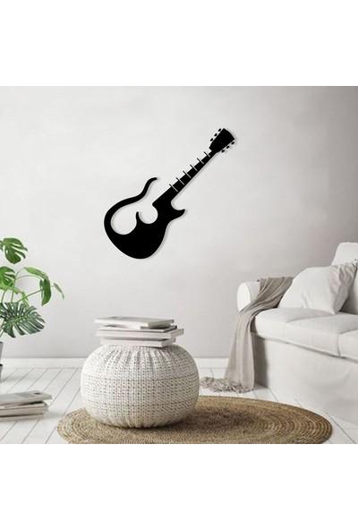Karaen The Beatles Gitar Müzik Temalı Dekoratif Metal Tablo
