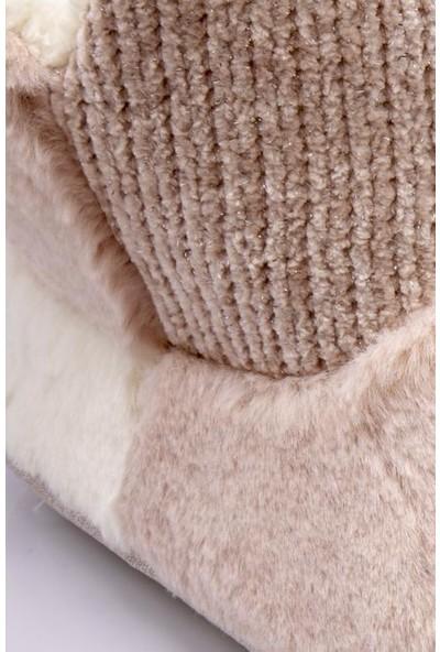 Twigy RR0108 Tw Kolet Pembe Kışlık Kadın Panduf