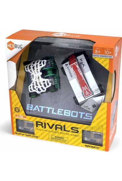 Hexbug Battlebots Rivals Robot Savaşları Uzaktan Kumandalı Robotlar: Bronco ve Witch Doctor (Yurt Dışından)