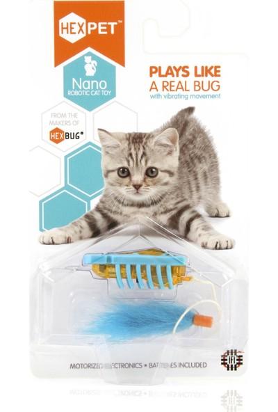 Hexbug Nano Robotik Interaktif Kedi Oyuncağı (Yurt Dışından)
