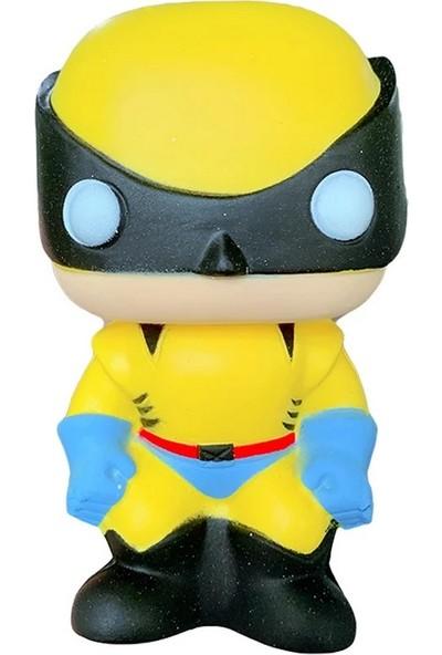 Şeker Ofisi Wolverine Squishy Oyuncak