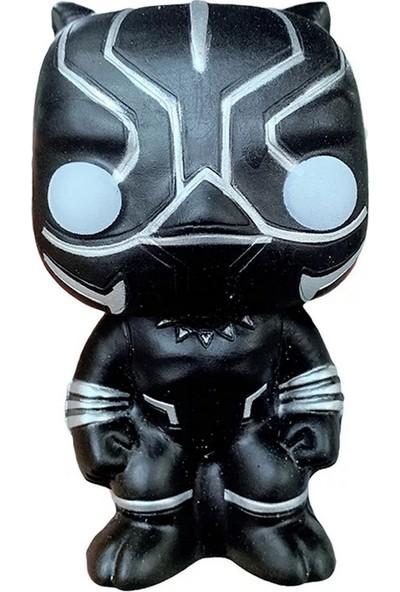 Şeker Ofisi Avengers Black Panther Squishy Oyuncak