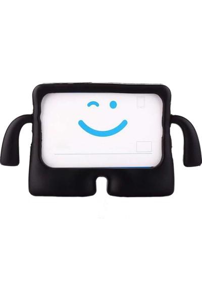 "Aksesuarcim Samsung Galaxy Tab 4 7"" SM-T231 Kılıf Silikon Standlı Kılıf Siyah"