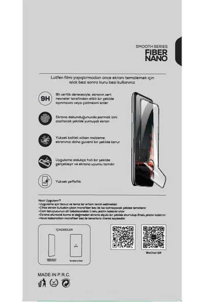 Zümrah Huawei P40 Lite Tam Kapatan 5D Nano Ekran Koruyucu Jelatin Siyah