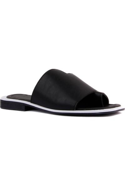 Moxee - Siyah Renk Kadın Parmak Arası Terlik