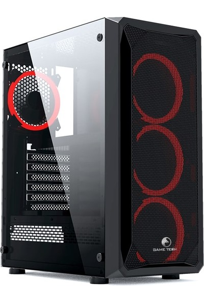 Gametech Gamtech Legend Rainbow 4x120mm Fan ATX Full Tower Bilgisayar Kasası