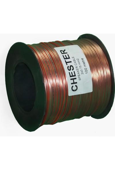 Chester 2 x 0,75 Kordon Kablo - 100M