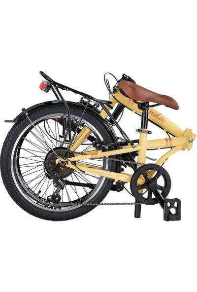 Ümit Cunda 20 6 S 2034 Katlanır Bisiklet Gold