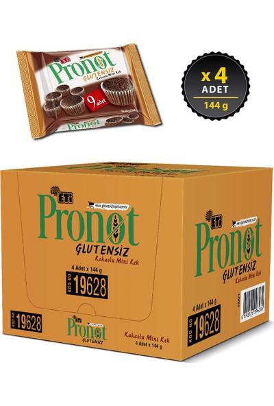 Eti Pronot Glutensiz Kakaolu Mini Kek 144 g x 4 Adet