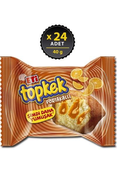 Eti Topkek Portakallı 40 g x 24 Adet