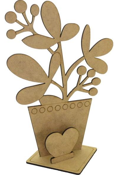 Camp Clover Boyanabilir 3 Boyutlu Sevgi Çiçeği Maketi