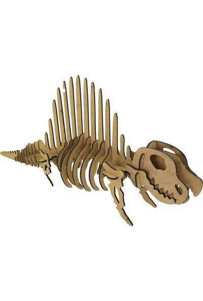 Camp Clover Boyanabilir 3 Boyutlu Dinozor Iskeleti Maketi