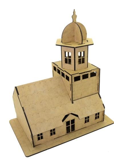 Camp Clover Boyanabilir 3 Boyutlu Maket Kız Kulesi