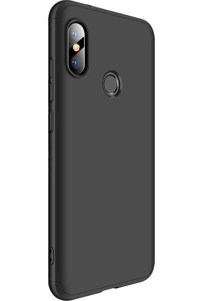AksesuarLab Zore Ays Kapak - Xiaomi Mi A2 Lite Kılıf 360 Tam Koruma Kılıf - 360 Derece Tam Koruma