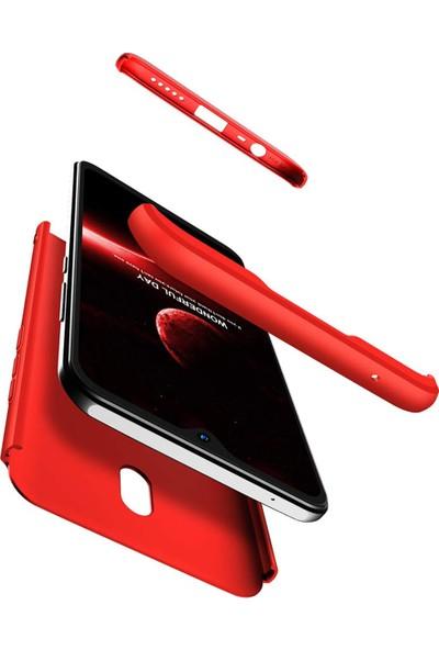 AksesuarLab Zore Ays Kapak - Xiaomi Redmi 8A Kılıf 360 Tam Koruma Kılıf - 360 Derece Tam Koruma