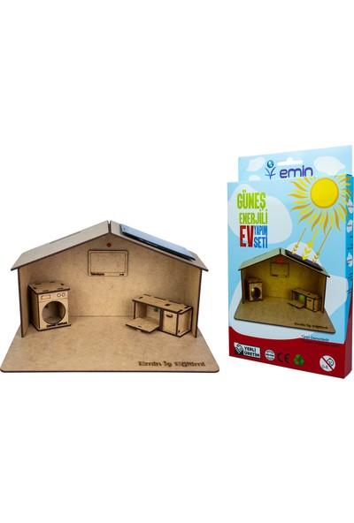 Emin İş Eğitimi Güneş Enerjili Ev Yapım Seti - Deney Seti