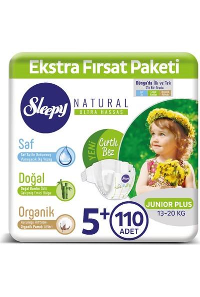 Sleepy Bebek Bezi Ektra Fırsat Paketi 5+ Numara Junıor Plus 110 Adet 13 - 20 Kg