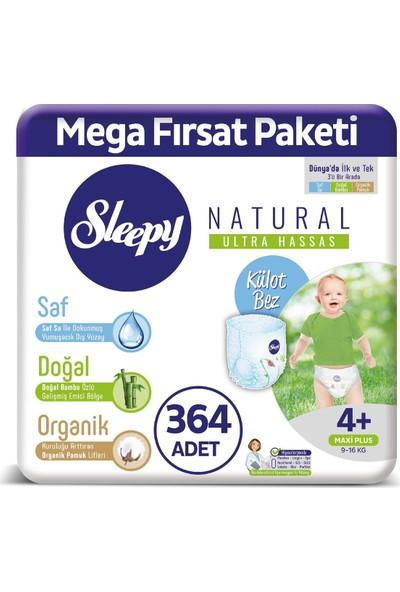Sleepy Külot Bez 4+ Numara Max Plus Mega Fırsat Paket 364 9 - 16 Kg