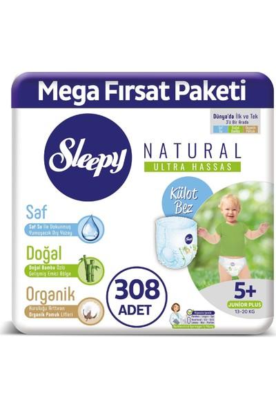 Sleepy Külot Bez 5+ Numara Junıor Plus Mega Fırsat Paket 308 13 - 20 Kg