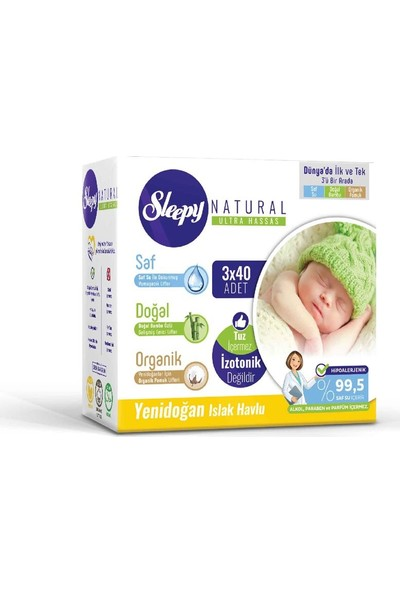 Sleepy Bebek Bez 1 Numara Yenideoğan Ekonomik Paket 2 - 5 Kg