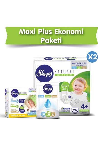 Sleepy Bebek Bez 4+ Numara Max Plus Ekonomik Paket 9 - 16 Kg