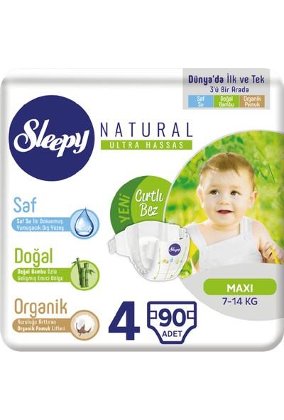 Sleepy Bebek Bez 4 Numara Max 90 7 - 14 Kg