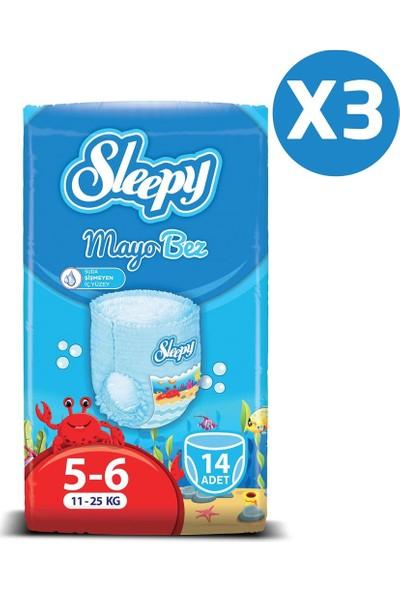 Sleepy Mayo Külot Bez 6 Numara X Large 3'Lü Paket 11 - 25 Kg