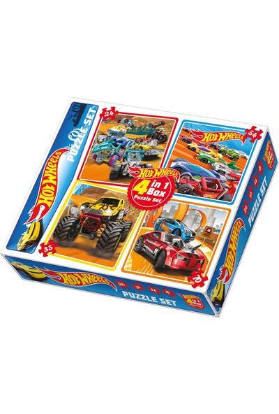 Diy-Toy Hotwheels 4 In Puzzle