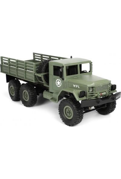 Gepettoys Askeri Araç 2.4g Uzaktan Kumandalı 6 Teker Kamyonet D848