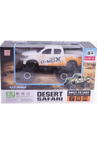 Gepettoys 2.4 Ghz 1:12 6x6 Desert Safarı Uzaktan Kumandalı Araba MJ1700
