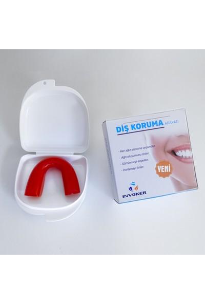 İnvoker Diş Gıcırdatma Diş Sıkma Önleyici Gece Plağı - Bruksizm Aparatı
