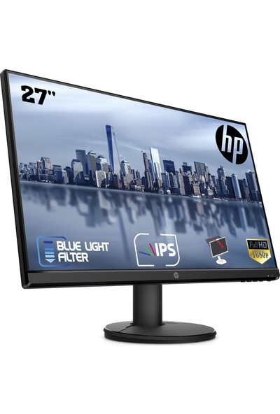 "HP V27i 27"" 60Hz 5ms (HDMI+Analog) Full HD IPS Monitör 9SV94AA"