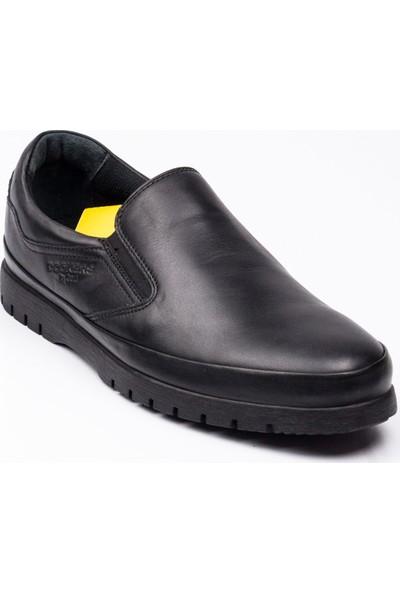 Dockers 229116 Comfort Siyah Deri Erkek Günlük Ayakkabı