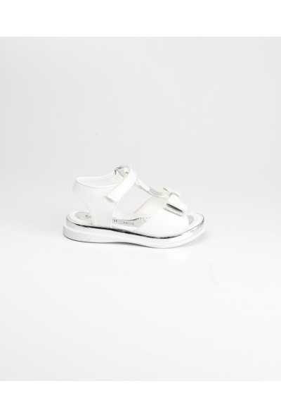 Sanbe 501 - 4605 Bebe Sandalet Beyaz